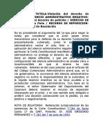CE SCA S3 - silencio administrativo negativo y derecho de petición (1998)