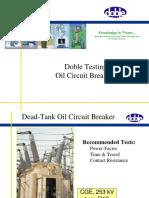 Oil Circuit Breakers Dec. 2002