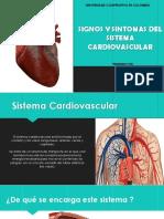 Signos y Sintomas Del Sistema Cardiovascular