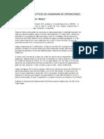 Casos Practicos de Diagrama de Operaciones