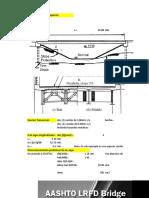 Cálculo de Puentes de Sección Compuesta-AASHTO