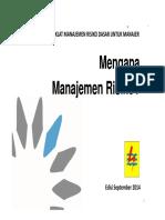 Materi 1M - Mengapa Manajemen Risiko