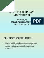 12[1]. Struktur Dalam Arsitetkur (1)