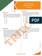 UNI 2017-II Matemática (RESPUESTAS) Unlocked
