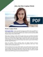 Profil, Biodata, Dan Data Lengkap Melody