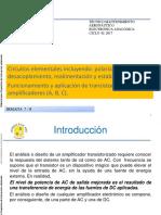 Semana 7 y 8 Polarizacion de Transistores y Aplicaciones 022017
