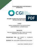 Mapeo Geomecanico - Tunel