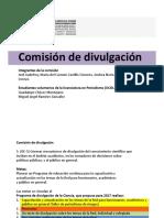 Comisión divulgación