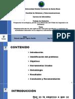 Presentacion Eduardo Tigrero Bacilio