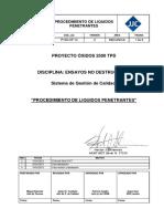 Procedimiento de Liquidos Penetrantes JJC