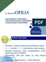 presentasi hemofilia