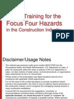 Focus Four Hazards English