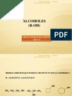 Alcoholes , Fenoles, Eteres 2015 -0