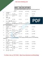 Basic Calculation(Notesbag.com)