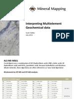 Lithogeochemistry Interpretation