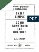 Gama Simple - Cómo Construir Las Gráficas (Por G. E. Shilov)