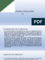 SEMINARIO ADSORCION