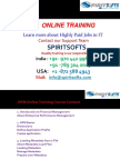 Spiritsofts provides Online Training for HYPERION FINANCIAL MANAGEMENT(HFM) in HYDERABAD INDIA, CANADA, USA, UK, UAE, AUSTRALIA  and  many more.
