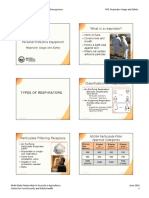 04 PPE Respirator Usage Safety PPT 6slide HANDOUT