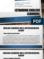 Understanding English Learners