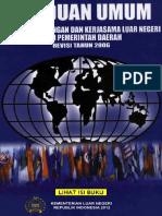 Panduan Umum Tata Cara Dan Kerja Sama LN Oleh Pemda KEMLU