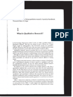 Silverman - What is Qualitative Research