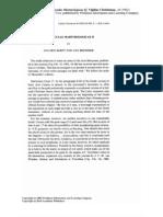 J. den Boeft - J. Bremmer, Notiunculae Martyrologicae II