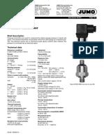 Jumo Pressure Transmitters