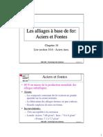 Cours_10_Aciers Et Fontes