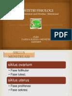 The Endometrium and Decidua - Menstruasi