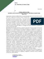Comunicat de Presa ITM Sibiu Intalnire 19-04-2016