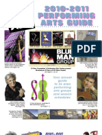 El Paso Scene 2010-2011 Performing Arts Guide