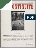 Discontinuite 1 Jun 1928