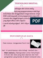 Teknologi Digital Ppt