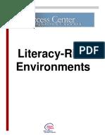 21 - Literacy Rich Environments