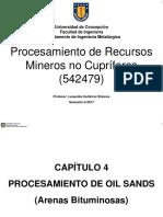 Capitulo 4-Procesamiento de Oil Sands