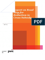 Report on Road map for reduction of cross subsidy - Pwc Report.pdf