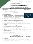JNTU-A MBA I Sem Model Papers.doc