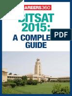 BITSAT 2015- A Complete Guide
