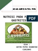 PENDKES NUTRISI PADA PASIEN GASTRITIS.pptx