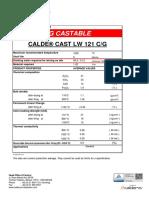 Tds Calde Cast Lw 121 Cg