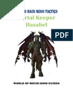 Portal Keeper Hasabel Tactics - Patreon Member