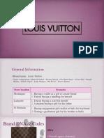Louis Vuitton - Final Presentation