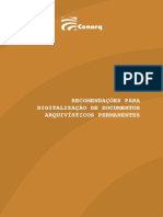 Recomendações de digitalização de documentos
