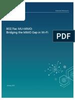 802 11ac Mu Mimo Bridging the Mimo Gap in Wi Fi