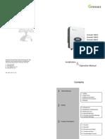 Growatt 1000-3000-S User Manual