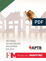 VICTIMAS INCENDIO ESPAÑA 2016