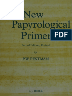 Pestman P.W.-the New Papyrological Primer-Brill (1994)