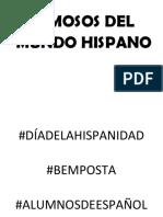 Famosos Del Mundo Hispano
