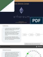 Jason Simeon Genge A code - What is Ethereum ?